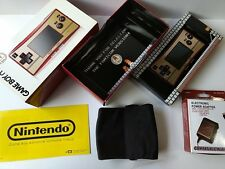 Nintendo Gameboy Micro Famicom color console OXY-001/Console,Charger,Boxed-T4-