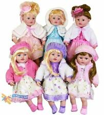 """Large 24"""" Soft Bodied Christmas Party Doll Baby Girl with Festive Dress Outfit"""