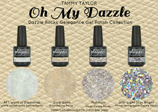 "BRAND NEW! GELEGANCE ""OH MY DAZZLE!"" DAZZLE ROCKS GLITTER GEL POLISH COLLECTION"