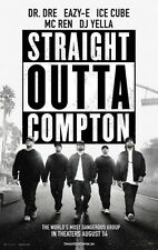 STRAIGHT OUTTA COMPTON -2015- orig 27x40 D/S ADV Movie Poster- DR. DRE, ICE CUBE