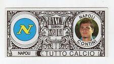 figurina BANCA DELLO SPORT TUTTO CALCIO 2007/2008 NAPOLI CONTINI
