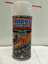 ABRO Dry Chain Lube 180ml High Performance spray lubricate Motorcycle Bike Cycle
