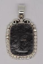 Sterling Silver Rutilated Quartz Pendant-6.7 grams, UK SELLER