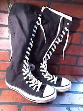 CONVERSE All Star Chuck Taylor XX Hi Top Zipper Shoe Size Mens 6 Womens 8 Black