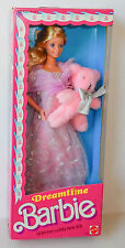 1984 Dreamtime Barbie NRFB #9180 With Pink Teddy Bear