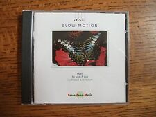 Slow Motion CD by G.E.N.E. Music for Body Soul Meditation Recreation Brain Food