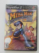 Mega Man Anniversary Collection (PlayStation 2) PS2 FACTORY SEALED! NEW! MEGAMAN