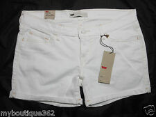 LEVIS womens white mid length casual short size11 / 230  NEW WITH TAG