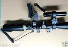 DIY Night Vision Scope for Rifle Scope with  IR Torch and Monitor