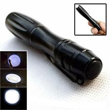 Portable Cree Q5 1200LM High Power Torch LED Tactical Flashlight AAA Lamp Light