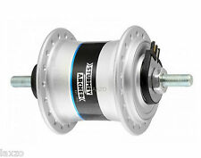 Sturmey Archer HDS12 Bicycle Bike Dynamo Front Hub 36 Hole Silver - 6V/2.4W