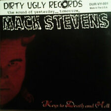 "MACK STEVENS / WHITEY MACK & HIS BOOZE HOUNDS SPLIT 7"" . rockabilly cramps"