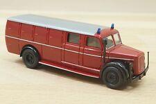 Brekina 4122 Magirus deutz Eckhauber Feuerwehr Einsatzfahrzeug neu in OVP (A2)