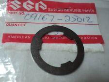 1976-2013 SUZUKI RM DR GSX LT RMX  TRANSMISSION LOCK WASHER NOS OEM 09167-25012