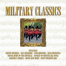 MILITARY CLASSICS ~ BRAND NEW SEALED CD ALBUM ***  RULE BRITANNIA AND MORE  ***