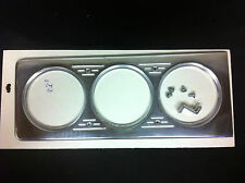 1940 CHEVY CAR 3 HOLE BILLET DASH INSERT