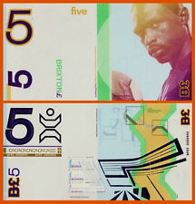 England,s Transition Town BRIXTON 5 Pounds Luol Deng 2012 Gem UNC