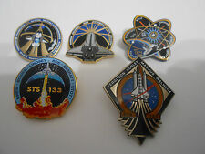 NASA Space Shuttle Program Discovery Atlantis Endeavour Final Mission Pin Set