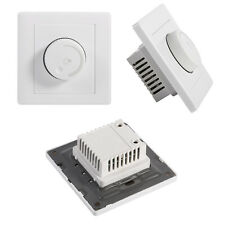 Light Dimmer Control Wall Rotary Lamps LED Light Switch Brightness Controller ES
