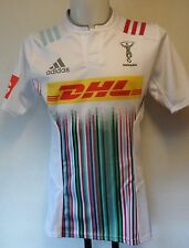 HARLEQUINS RUGBY 2015/16 PLAYER QUALITY AWAY JERSEY BY ADIDAS SIZE 11= XL