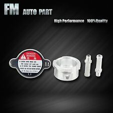Aluminum Small 32mm Fill Neck 1.1 Bar Radiator Cap Fit Chevrolet Ford Toyota