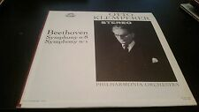Otto Klemperer Beethoven Symphony No. 8 & No. 1 Philharmonia Orchestra Record LP