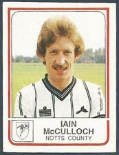 PANINI FOOTBALL 84-#212-NOTTS COUNTY-IAIN McCULLOCH