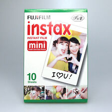 10 Sheets For Fujifilm Instax Mini White Film 7s 8 25 50s For Polaroid Camera PS