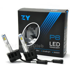ZY P6 110W 10400LM Philips LED Headlight Kit Conversion Canbus H4 H7 H11 9004 H8