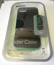 Incase Pro Slider Case for iPhone 5 & 5S BLACK/ASTRO GREEN    R17