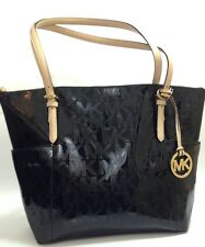BNWT Michael Kors Jet Set Signature Black Shoulder Tote Bag RRP £230.00