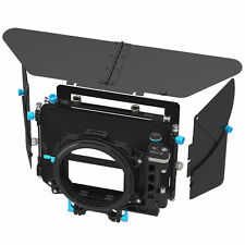 FOTGA DP500 III Matte Box Swing-away Filter Tray for 15mm Rod Rig DSLR Camera US