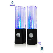 30pcs/lot Wireless bluetooth Music Fountain Dancing Water Speakers smart