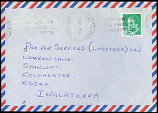 Spain 1993 Commercial Airmail Cover To England #C30413