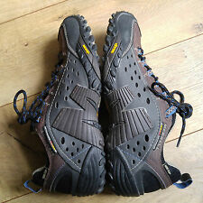 Coffee GORE-TEX Waterproof Merrell Intercept Hiking/Trail Shoes Mens US Size 8.5
