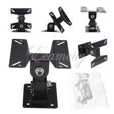 "TV LCD Wall Mount Bracket Monitor Adjustable Angle Swivel 14"" to 24"" Flat Panel"