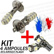 ► KIT 4 AMPOULE XENON ║  2x H1 + 2x LED T10 ║ PEUGEOT 307 HDI I CC SW 3P 5P