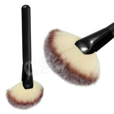 1x Professional Large Fan Makeup Brush Face Powder Cheek Highlighter Bronzer Kit