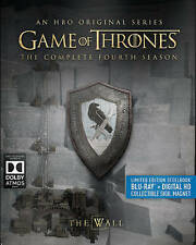 Game of Thrones The Complete Fourth 4th 4 Season Steelbook Blu-ray 4-Disc Set