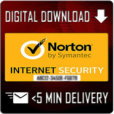 Norton Internet Security by Symantec - 1 PC 180 Days 6 Months Full License Key