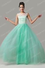 SALE Wedding Long Graduation Prom Party Ball Dress Bridesmaid Pageant Dress Gown