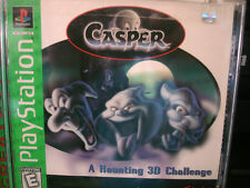 Casper -- A Haunting 3D Challenge (Sony PlayStation 2, 1996) WORLD SHIP
