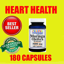 Moringa Oleifera Extract 5000mg 180 caps Herb Anti - Aging 6 Month Supply 21243