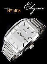 DKNY MEN'S CLASSIC TOP WHITE DIAL COLLECTION WATCH NY1408