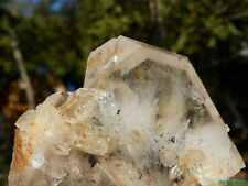 LARGE  Arkansas Quartz Crystal Uncleaned TABBY Isis Point