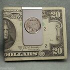Money Clip Indian Head Nickel Vintage Coin USA 5 Cents