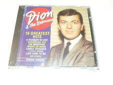 """DION & THE BELMONTS """"18 GREATEST HITS"""" CD COMPANION SEALED"""