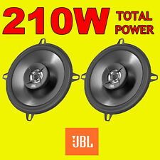 Jbl 210w total 2way 5.25 Pulgadas 13cm coche door/shelf Altavoces Coaxiales Negro Par