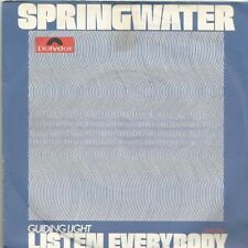 Springwater - Listen Everybody / Guiding Light (Vinyl-Single 1972) !!!
