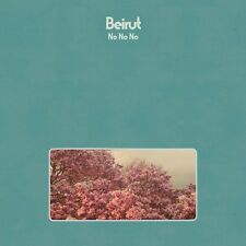 Beirut NO NO NO +MP3s Limited Edition NEW SEALED Blue Colored Vinyl LP